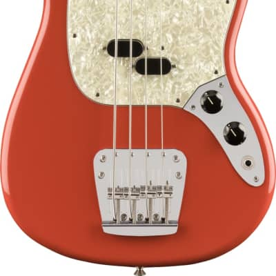 Fender Vintera 60s Mustang Bass PF Fiesta Red w/bag
