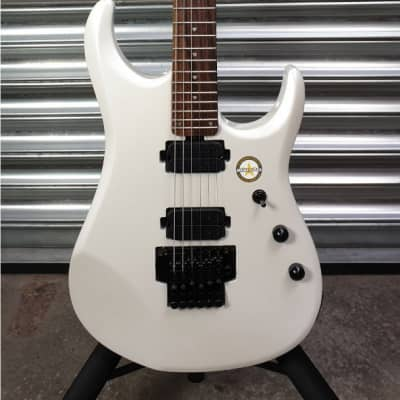 Sterling By Music Man JP160 Pearl White for sale