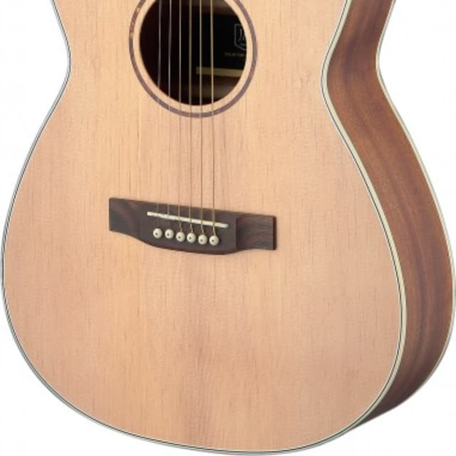 James Neligan Asyla Series Auditorium Travel Guitar w/ Solid Spruce Top, Lefthanded image