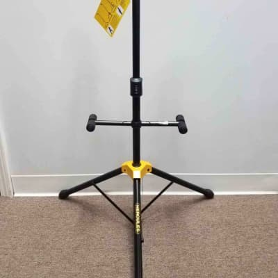 Hercules GS422B Auto Grip Duo Guitar Stand w/ Foldable Backrest