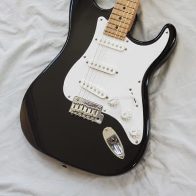 1994 Peavey USA Predator Stratocaster Vintage Electric Guitar - Black Finish With Maple Fretboard for sale
