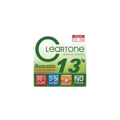Cleartone Phosphor Bronze Medium 13-56 Acoustic Strings
