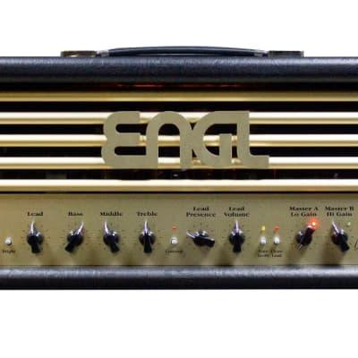Engl E650 V2 Ritchie Blackmore Signature Model Black/Gold