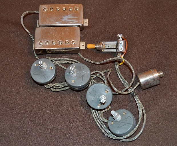 gibson gibson paf pickups pots switch jack wiring. Black Bedroom Furniture Sets. Home Design Ideas