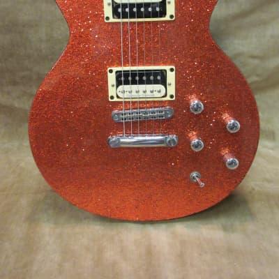2004 GMP Doublecut Set Neck Orange Sparkle Mahogany Body & Neck Rare OHSC Free US Shipping! for sale