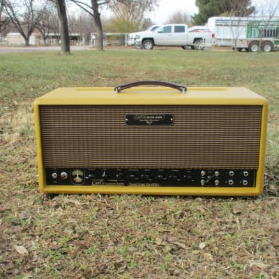 Carl's Custom Amps Tweed Stage Pro 40W to 1/10W  Twin/Bassman Style with London Power Scaling for sale