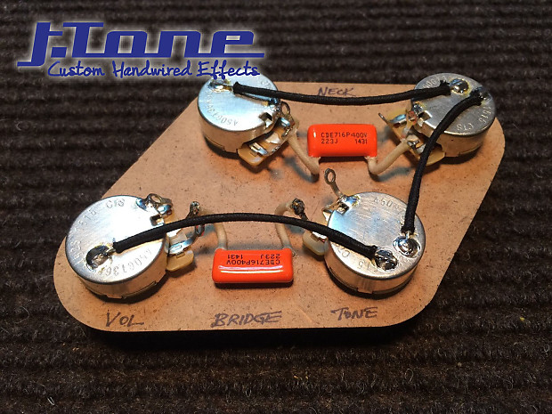 50 U0026 39 S Wiring Harness Gibson Les Paul Orange Drop Capacitor