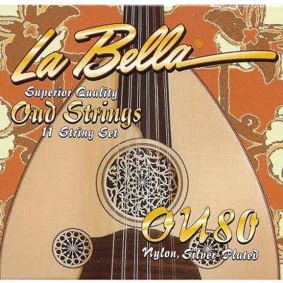 La Bella - OU80 Oud -11- Naylon String Set, Turkish Tuning