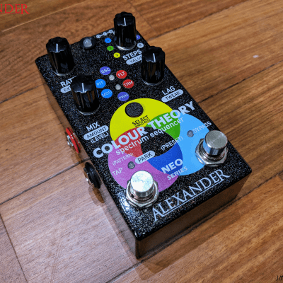 Alexander Pedals Color Theory