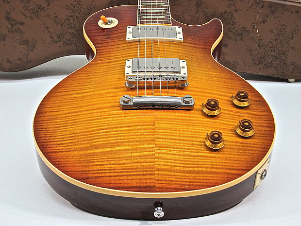 Best 1959 Gibson Les Paul Standard Reissue Made 1992 Leo's Model Guitar  Trader Variety with Case
