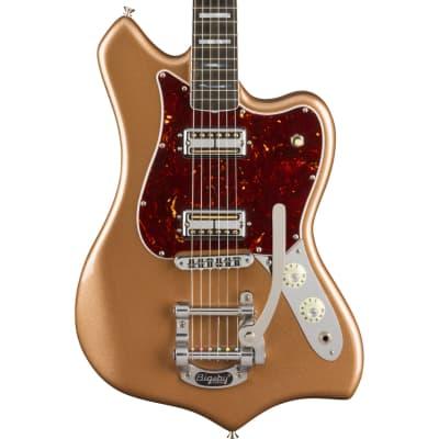 Fender Parallel Universe Maverick Dorado Firemist Gold for sale
