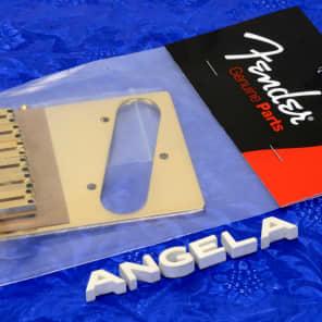 Genuine Fender ® Gold American Series Telecaster Tele Bridge Assembly 0990807200