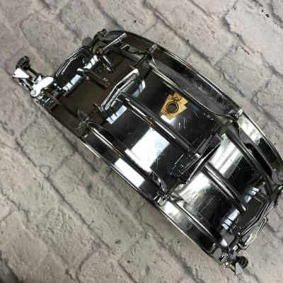 Vintage 1960s Ludwig 14 x 5 Super Sensitive Snare Drum