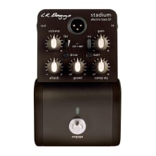 Lr Baggs Stadium Electric Bass DI Full Isolation pedal and tuner