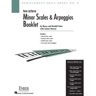 Achievement Skill Sheet No. 6: Two-Octave Minor Scales & Arpeggios