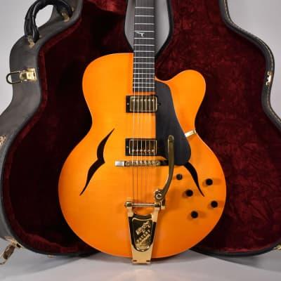 1999 Mortoro Free Bird Jimmy Vivino Archtop Hollowbody Electric Guitar w/OHSC for sale