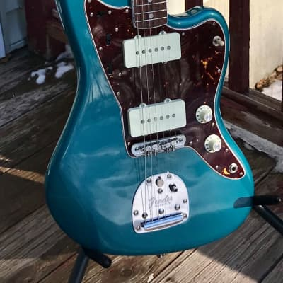Fender American Original '60s Jazzmaster w/ Rosewood  & Mastery Ocean Turquoise