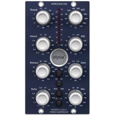 Elysia xpressor 500 Series Discrete Class-A Stereo Compressor Module