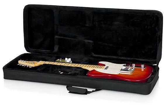 gator cases lightweight electric guitar case fender strat reverb. Black Bedroom Furniture Sets. Home Design Ideas