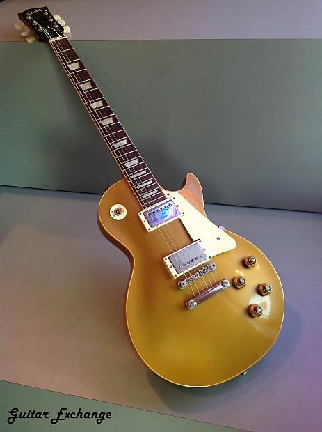 gibson les paul standard 1957 goldtop guitar exchange reverb. Black Bedroom Furniture Sets. Home Design Ideas