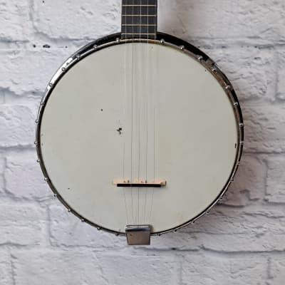 Kay 5-String Closed Back Eagle Carving Banjo for sale