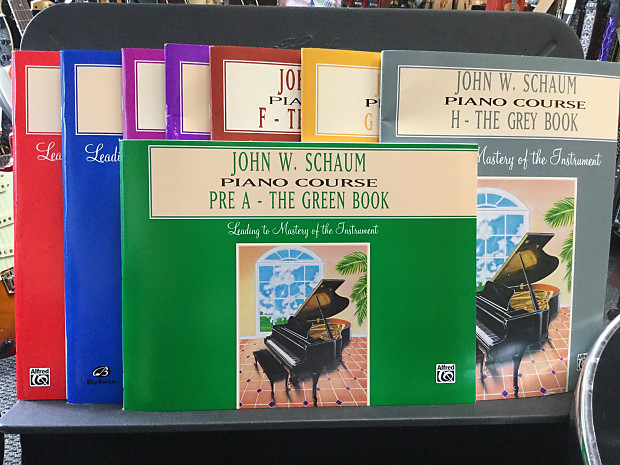 3 adult book course john piano schaum w