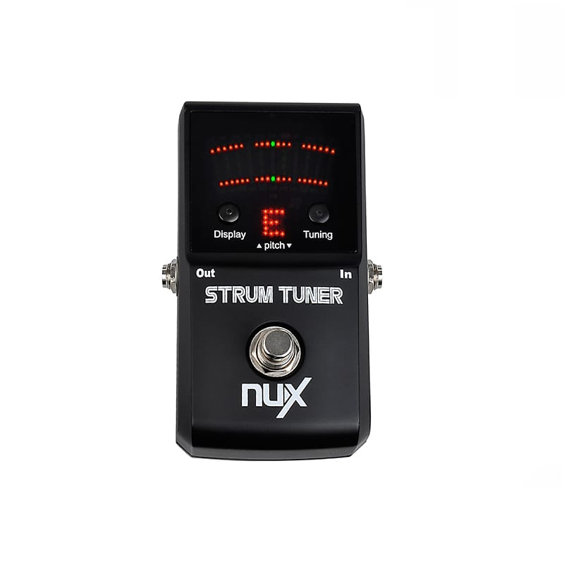 nux guitar and bass pedal tuner strum tuner reverb. Black Bedroom Furniture Sets. Home Design Ideas