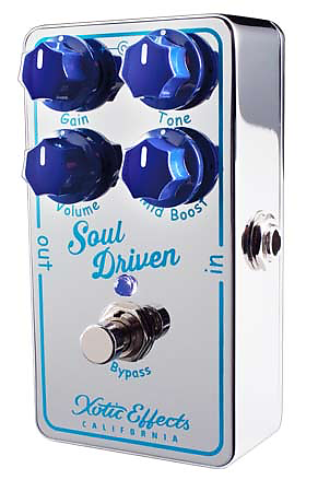 xotic effects soul driven overdrive pedal bananas at large reverb. Black Bedroom Furniture Sets. Home Design Ideas