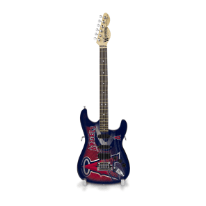 """Woodrow Los Angeles Angels 10"""" Collectible Mini Guitar"""