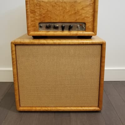 Alessandro English with BG/S/R upgrades Curly Maple Head with Matching Speaker for sale