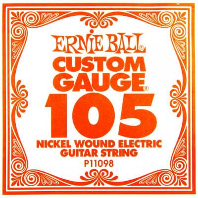 Ernie Ball Nickel Wound P11098 Single String 105