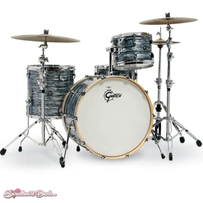 Gretsch Renown 4 Piece Drum Set Shell Pack (24/13/16/14sn) Oyster Pearl