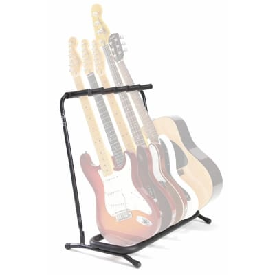 Fender Multi Stand 5 Guitar Stand for sale