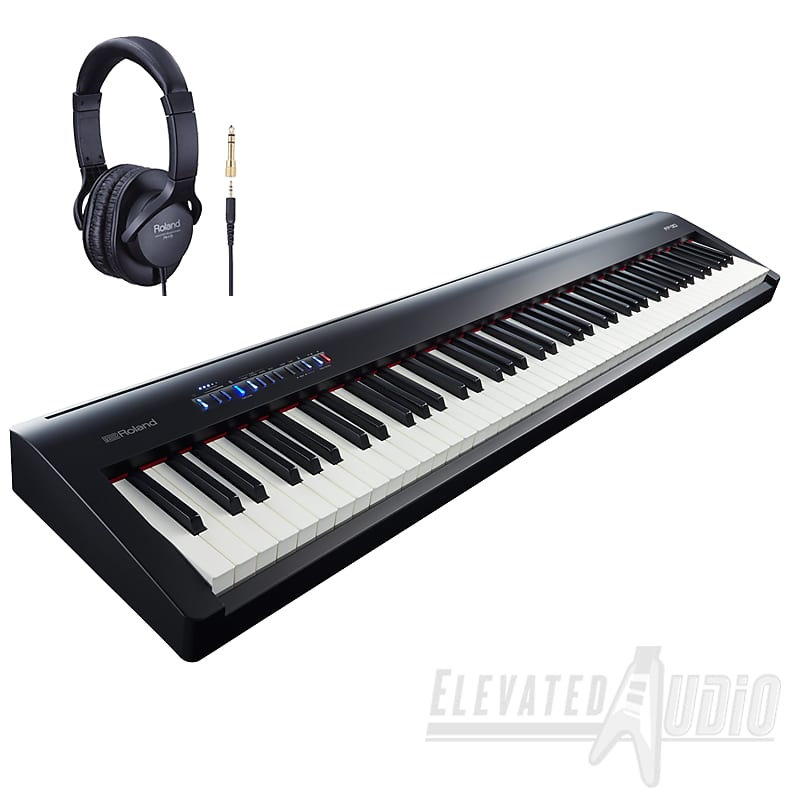 roland fp 30 bk 88 key digital piano w rh 5 headphones reverb. Black Bedroom Furniture Sets. Home Design Ideas