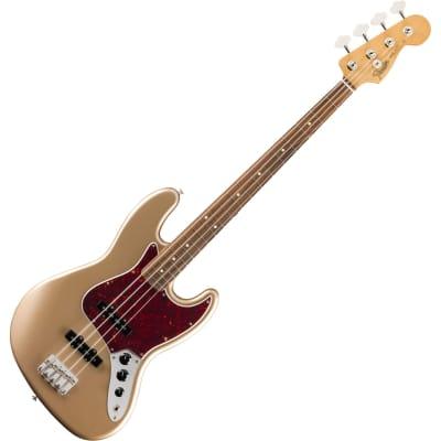 Fender Vintera Series 60s Jazz Bass - PF - Firemist Gold for sale