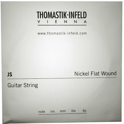Thomastik-Infeld JS28 Jazz Swing Nickel Flat-Wound Guitar String - D (.28)