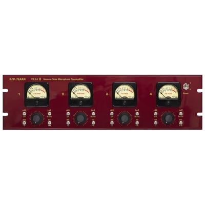 D.W. Fearn VT-24 Four-Channel Tube Mic Preamp