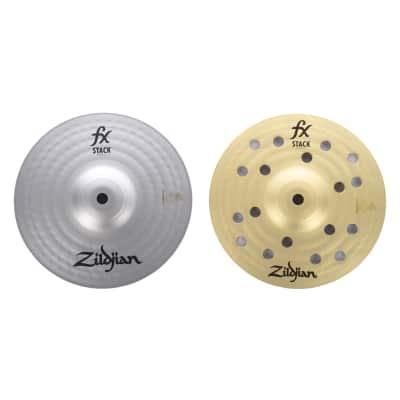 "Zildjian 8"" FX Cymbal Stack w/Mount"