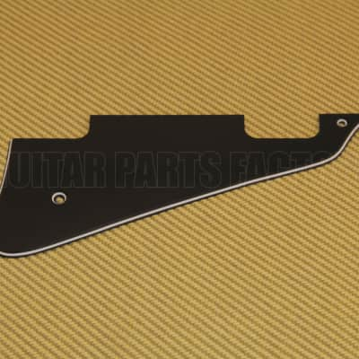 LPN-503 WD  3-ply Black Pickguard for Les Paul Deluxe Guitar