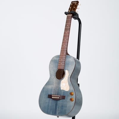 Art & Lutherie Roadhouse Q-Discrete Acoustic-Electric Guitar - Denim Blue for sale