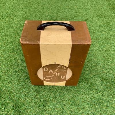 Oahu Amplifier 1950 Brown/Cream for sale