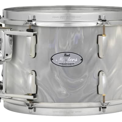 Pearl Music City Custom Masters Maple Res 24x14 Bass Drum w/Mt White Satin Moire