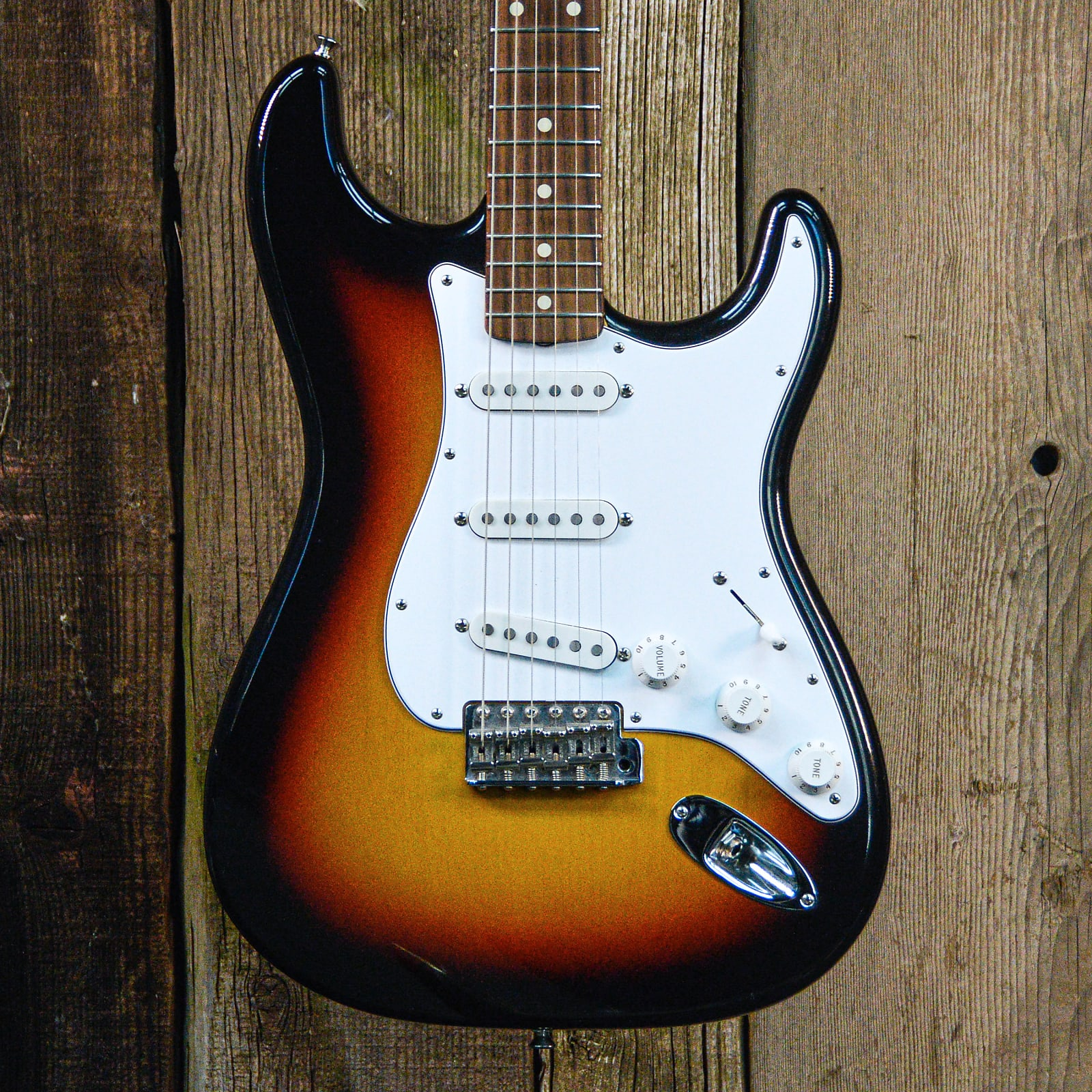 Fender Custom Shop 1960 Stratocaster NOS 2015 3-Tone Sunburst