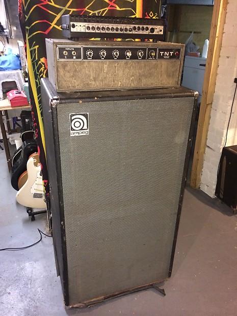 Ampeg V4B 2 X 15 cab 1972 Original | Reverb
