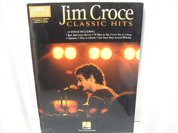 Jim Croce Classic Hits Strum It Guitar Chords Sheet Music Reverb