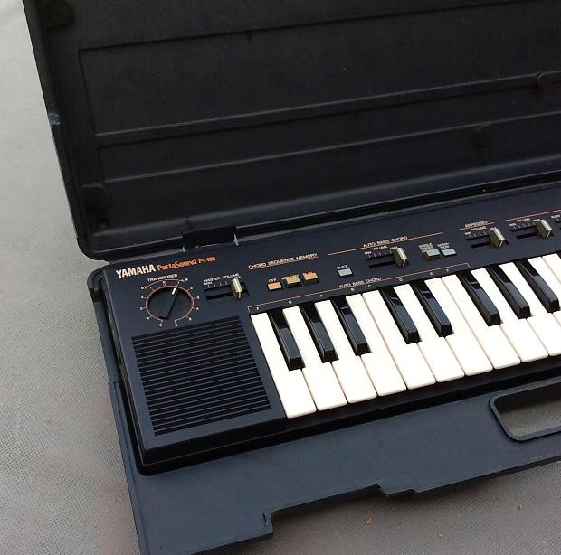 Yamaha Portasound Ps Keyboard With Case