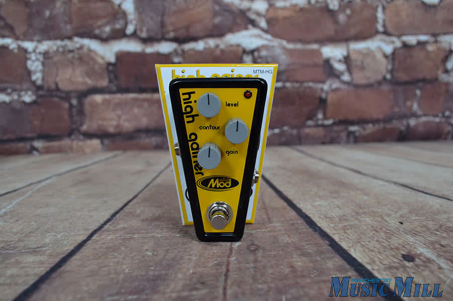 Modtone Mini Mod High Gainer MT-MHG Guitar Effect Pedal ...