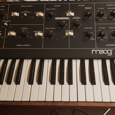 Moog Prodigy 1979 - 1984 with CV & Gate Inputs