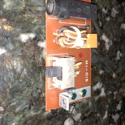 Kawai K5m headphone jack and memory protect switch board