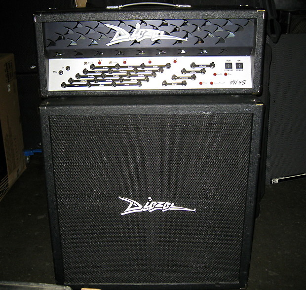 Diezel VH4S with Stereo Diezel Cabinet | Reverb